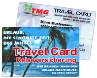 TMG Travel Card Reiseversicherung