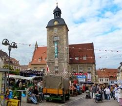 Bauernmarkt in Querfurt