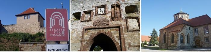 Burg Querfurt - Ansichten