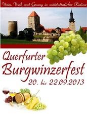 Querfurter Burgwinzerfest