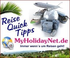 Tipps zu Urlaub und Reisen auf MyHolidayNet.de