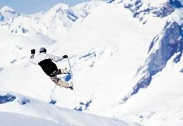 Flugreisen in den Skiurlaub