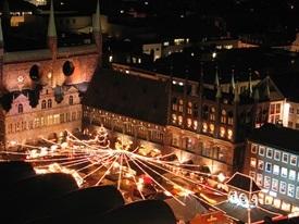 Lübeck zur Vorweihnachtszeit - Weihnachtsmarkt