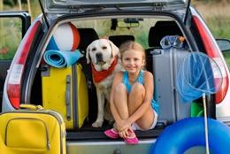 reisen mit dem Haustier - Hund und Campingurlaub