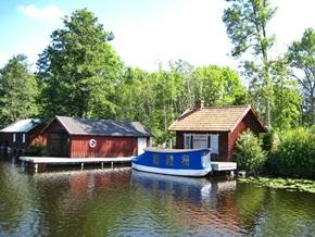 Urlaub in einem Ferienhaus in Schweden