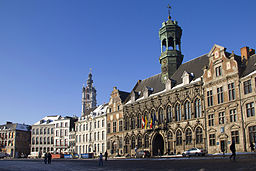 Mons in Belgien - Grand Place