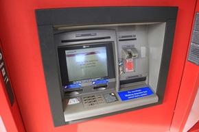 Geldautomat im Ausland
