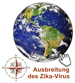 Ausbreitung des Zika-Virus