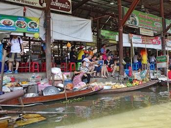 Bangkok mit dem Longtailboot - die Khlongs