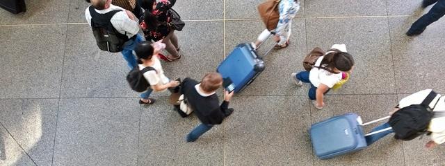 Reisegepäck bei Flugreisen