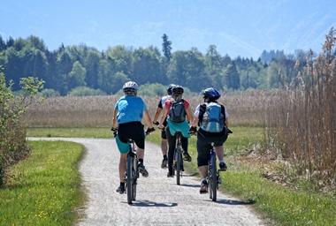 Urlaub mit Fahrrad und Bahn