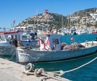 Mallorca - Im Hafen von Puerto de Andratx