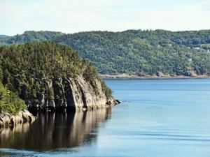 Am St.-Lorenz-Strom - der Saguenay-Fjord