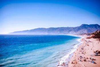 Kalifornien - am Strand von Malibu